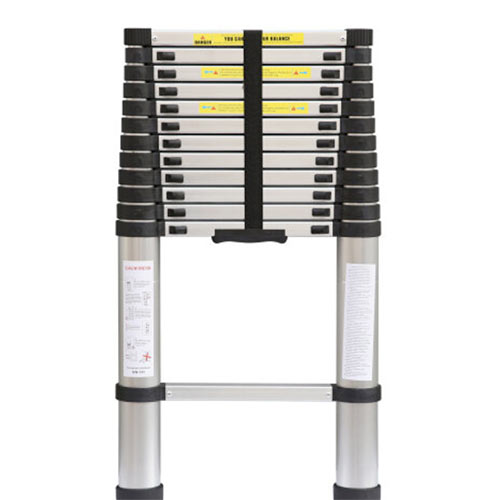 Small, compact and light weight telescopic ladder