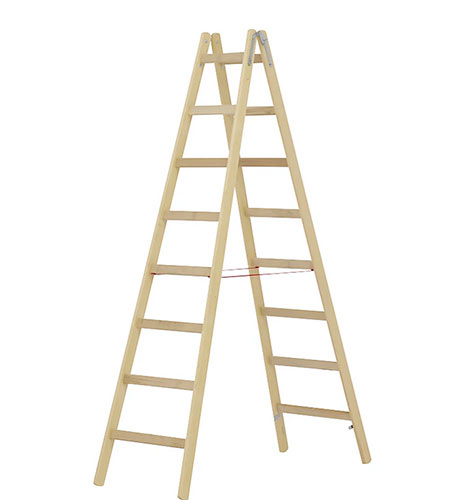 Timber step ladder