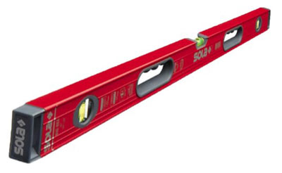 Box section spirit level