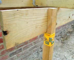 Post level for levelling posts