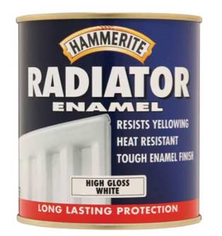 Hammerite radiator paint