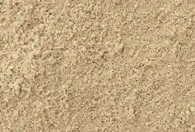 Jointing sand for patios and sand pits