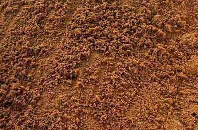 Standard red builders sand