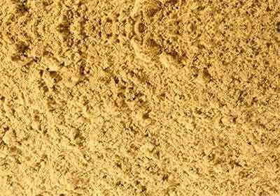 Standard yellow builders sand