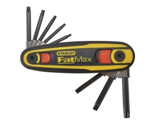 Torx or hex key set