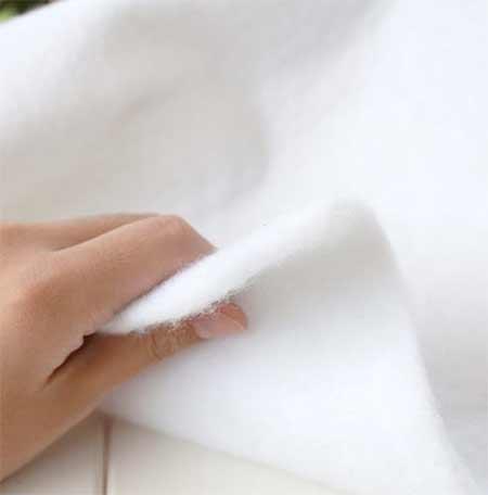 Wadding to encase padding