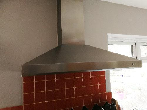 Cooker hood kitchen extractor fan