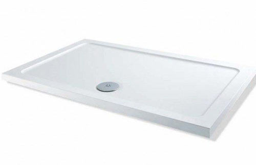 Rectangular shower tray
