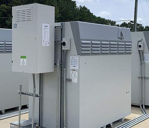 Flow battery for large scale solar farm