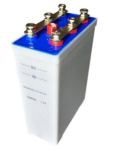 Nickel cadmium solar battery
