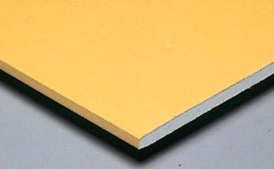 Impact resistant plasterboard