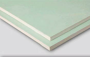 Waterproof plasterboard