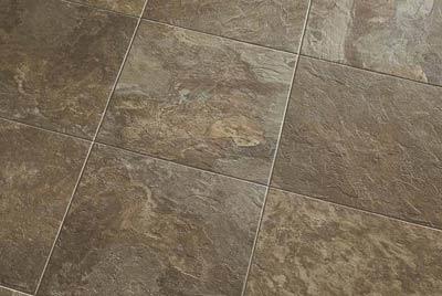 Stone look modern vinyl floor tiles