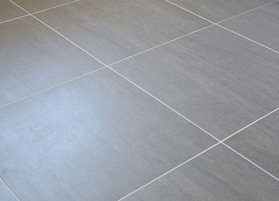 Large modern lino floor tiles