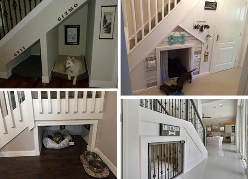 Pet room or kennel area understairs