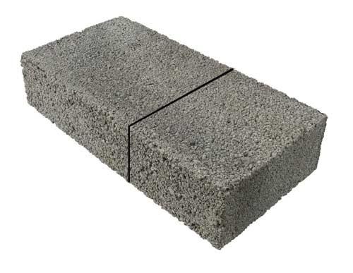 Using a Brick Bolster to Cut Bricks and Blocks Also
