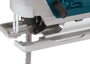 Roller guide blade support