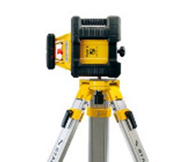 Automatic rotation laser level