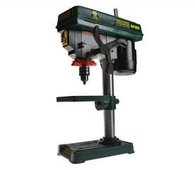 Benchtop pillar drill with cast iron handwheel