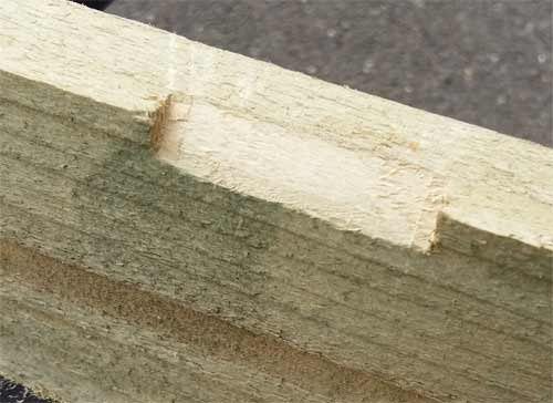 Smoothing timber shape with finer grade rasp