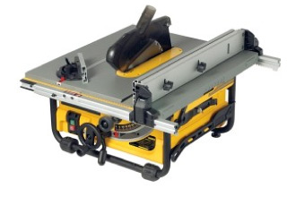Portable table saw or bench top saw