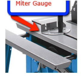 Table saw mitre gauge