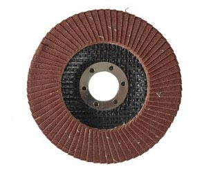 Flap sanding discs for angle grinders