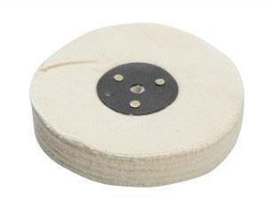 Polishing mop pad for an angle grinder
