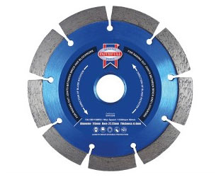 Diamond mortar raking disc