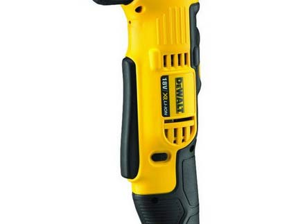 Angled drill variable speed trigger