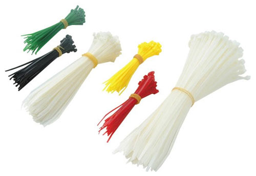 Coloured cable ties