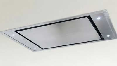 Ceiling mounted extractor unit