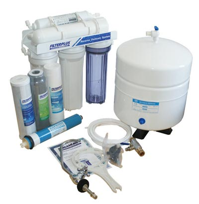 Reverse osmosis water filter kit