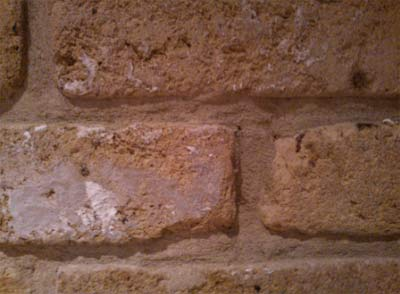 Check your external walls for shrinkage cracks in mortar joints