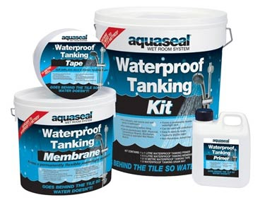 Aquaseal tanking kit