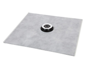Self adhesive backing mat