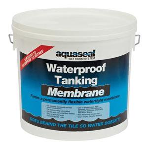 Rubber tanking membrane