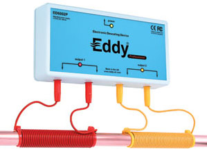 Eddy hard water descaler