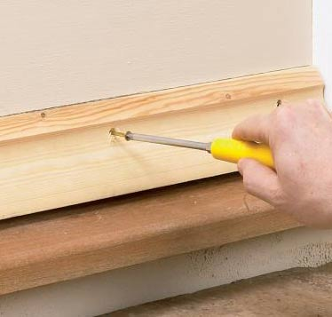 Screw the weatherboard to the door & How to Fit a Weatherboard to a Door to Prevent Leaks and Stop Timber ...