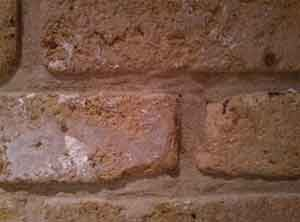 Remove a brick from your cavity wall to check for debris