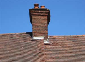 Broken roof tiles could be letting water into your house