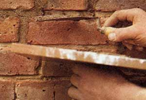 Get your pointing fixed to limit damp in your walls