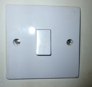 surface mounted 1 gang light switch
