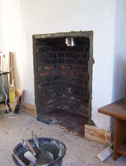Wood burners in fireplaces fitting woodburning stoves for New construction wood burning fireplace
