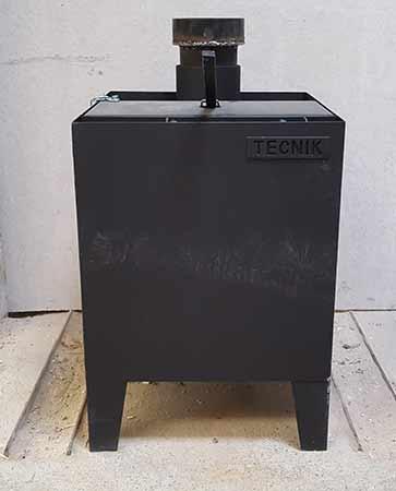12kW multifuel stove