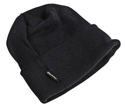Black beanie hat from Dickies