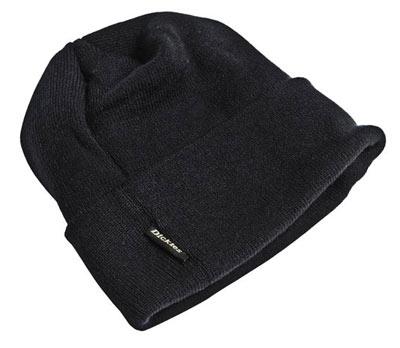 Black beanie hat from Dickies