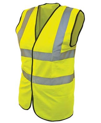 Scan hi-vis yellow waistcost