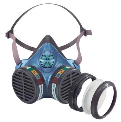 Moldex disposable mask with filter