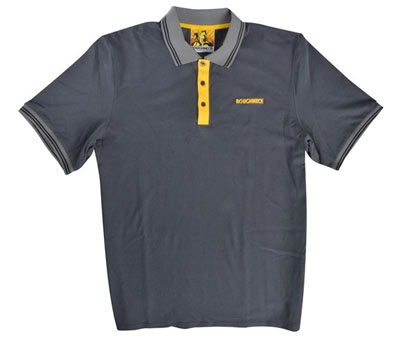Grey Roughneck polo shirt